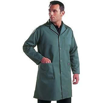Dickies mens Redhawk workwear magazijn vacht jas wit Navy, S, M, L, XL, XXL