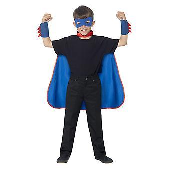 Garçons filles enfants Super Hero Kit Fancy Dress accessoire