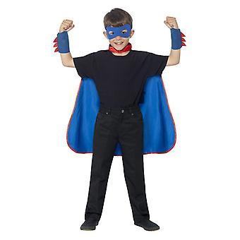 Boys Girls Childrens Super Hero Kit  Fancy Dress Accessory