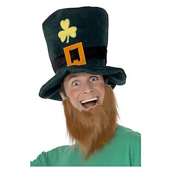 Volwassenen Leprechaun Hat Fancy Dress accessoire