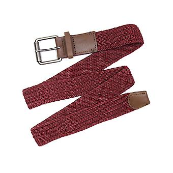 Arcade Hudson Webbing Belt in Burgundy