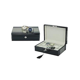 31MADISON 10 Caixa de relógio de carbono slot