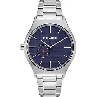 الشرطة 15965JS-03M أوركنيس الأزرق الطلب ساعة اليد