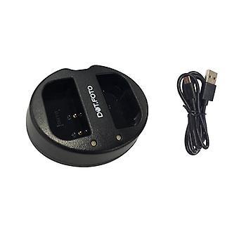 Dot.Foto D-LI90 Fast Dual USB Battery Charger zastępuje D-BC90 dla Pentax [Patrz opis zgodności]