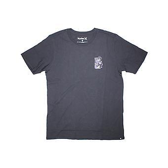 Hurley Panther Glas Kurzarm T-Shirt in schwarz