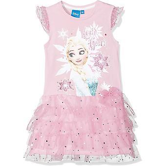 Disney Mädchen eingefroren Mädchen Lust auf kurze Ärmel Kleid