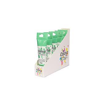 Colore Splash Gel - Verde 25g X 5