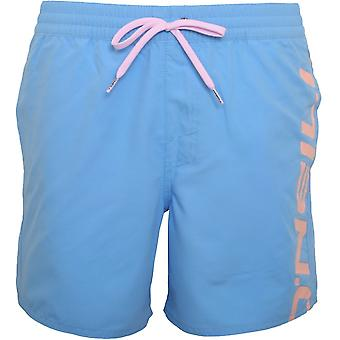 O ' Neill Cali Logo rétro Swim Shorts, bleu ciel