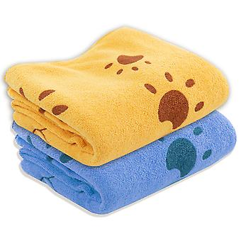 2PC Microfibre Pet Drying Towel TRIXES