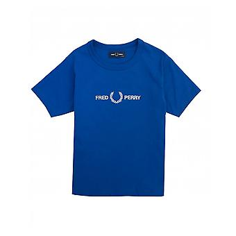 Fred Perry Kids Geborduurd front logo T-shirt