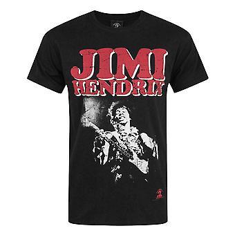 Jimi Hendrix Block Logo Men's T-Shirt