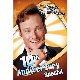 Late Night with Conan O'Brien 10th Anniv Special DVD