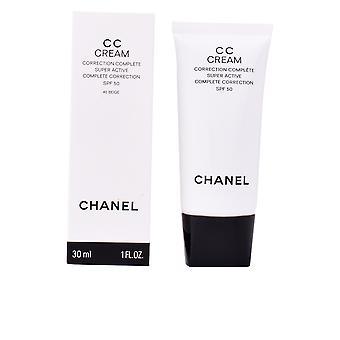 Chanel Cc Cream korrigering Complète Super Active Spf50 #b40-beige för kvinnor