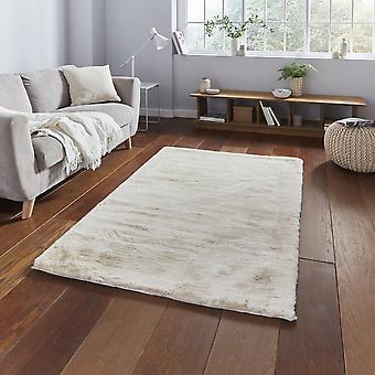 Orddy Shaggy Rugs In Beige