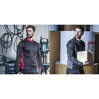 Finden & Hales Mens snel drogen bemanning hals Sweatshirt