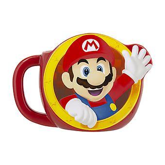 Super Mario a forma di tazza Super Mario Ufficiale Nintendo Novità Caffè da tè