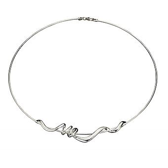 Joshua James Motive Silver Twisted Necklace