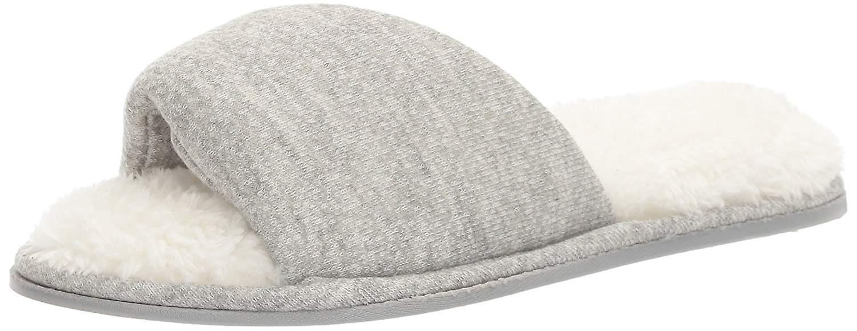 Dearfoams Women's Casual Knit Twist Vamp Scuff Slipper IEf4W