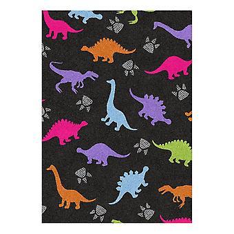 Kids Rug - Dino - Lavable - 65 x 85 cm
