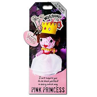 Watchover Voodoo Dolls Pink Princess Voodoo Keyring