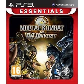 Mortal Kombat Vs DC Universe Essentials (PS3) - New
