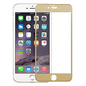 Apple iPhone 7 / 8 3D pansret glas folie display 9 H beskyttende film dækker tilfælde guld