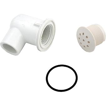 "Waterweg 670-2310 0,5"" Slip Elbow Style Top Flo Spa Air Injector"