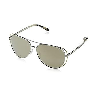 Michael Kors Ladies Sunglasses MK1024 11765A - Silver/Pale Gold