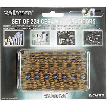 Velleman Ceramic capacitor set 10 % 1 Set