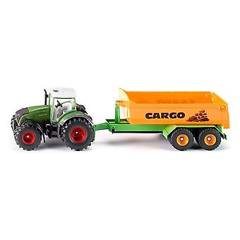 Siku Fendt Tractor With Hook Lift And Trough  1:50 1989