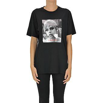 Département Cinq Ezgl534003 Femmes-apos;s T-shirt en coton noir
