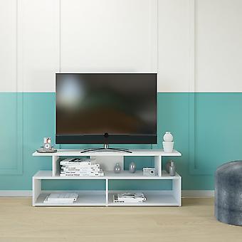 Mobile Porta TV Robbie Color Bianco in Truciolare Melaminico 120x40x42 cm