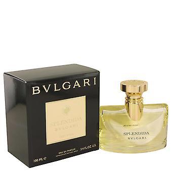 Bvlgari Splendida Iris d'or Eau De Parfum Spray por Bvlgari 3,4 oz Eau De Parfum Spray