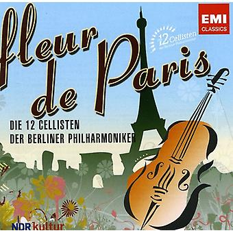 12 Cellists of the Berlin Philharmonic - Fleur De Paris [CD] USA import