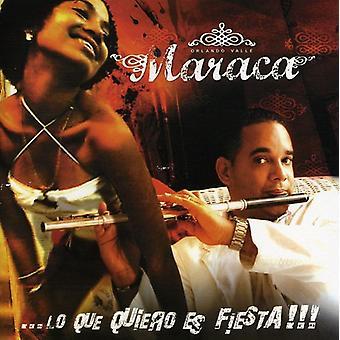 Maraca - Lo Que Quiero Es Fiesta [CD] USA import