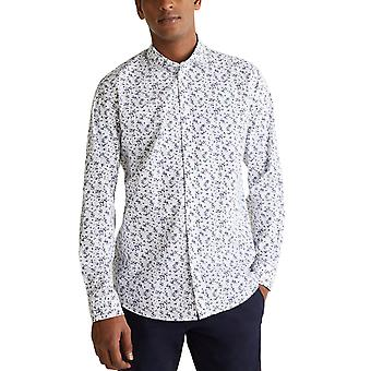 Esprit Men's Coolmax Floral Shirt Slim Fit