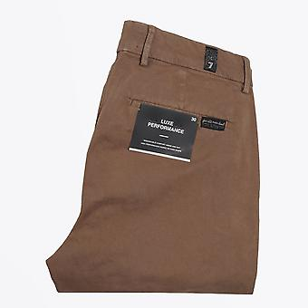 7 For All Mankind  - Slimmy Luxe Performance Sateen Chinos - Beige