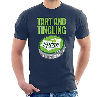 Tart And Tingling Sprite 1960s Logo Men's T-Shirt