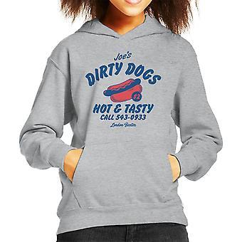 London Banter Joes Dirty Dogs Kid's Kapuzen Sweatshirt