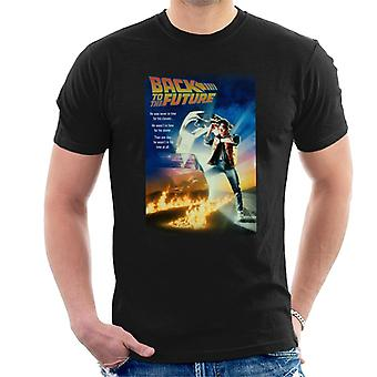 Back To The Future Marty Looking At Watch Men's T-Shirt