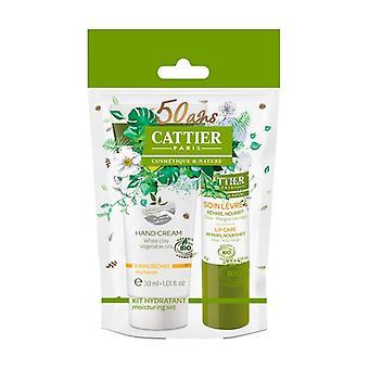 Winter Kit Moisturizing Lip Balm and Hand Cream 30 ml