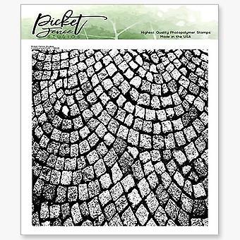 Picket Fence Studios Mukulakivi polku selkeä postimerkit