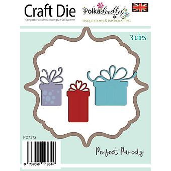 Polkdoodles Perfect Parcels Dies