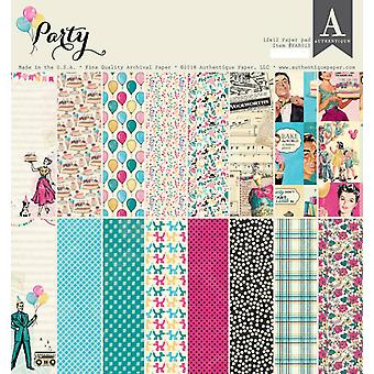 Authentique Party 12x12 pulgadas De papel Pad
