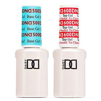 DND UV/LED Gel Polish - Topcoat 900 & Basecoat 800 - 2 X 15ml