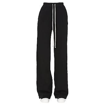 Rick Owens Drkshdw Ds20f1328f09 Women's Black Cotton Pants