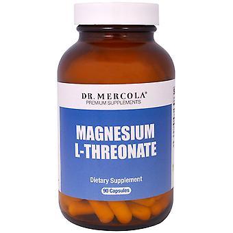 Dr. Mercola, Magnesium L-Threonate, 90 Capsules