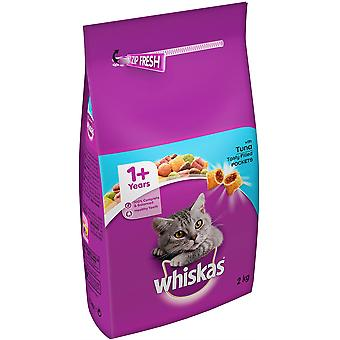 Whiskas 1+ Adulte Cat Complete - Thon & Veg - 2kg