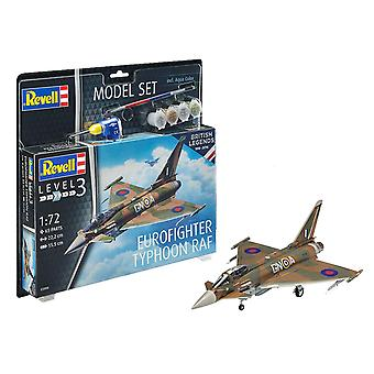 Revell 63900 1:72 100 anni RAF: Eurofighter Plastic Model Kit
