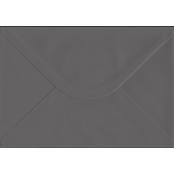 Vintage Grå Gummed C5/A5 Farvede grå konvolutter. 135gsm GF Smith Colorplan Papir. 162mm x 229mm. Banker Style Konvolut.